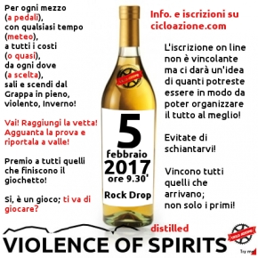 VIOLENCE OF distilled SPIRITS